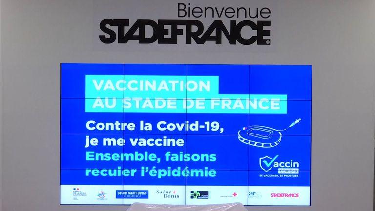 """И """"Стад де Франс"""" се превърна в център за ваксинация"""