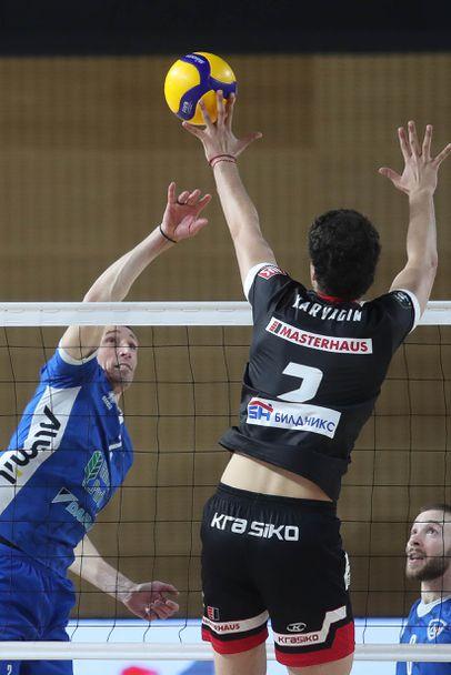 Полуфинал №1: Левски - Нефтохимик 0:3