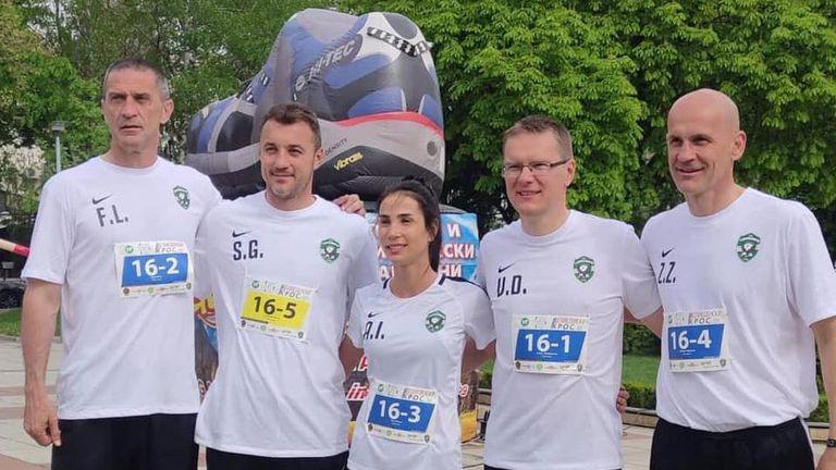 Дамбраускас и компания трети на Великденския маратон