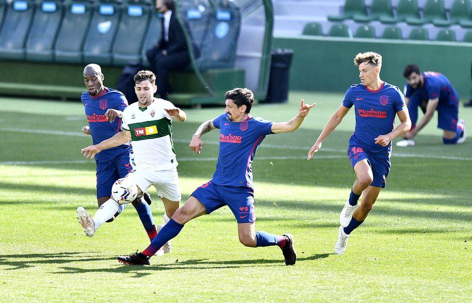 Елче - Атлетико Мадрид 0:1