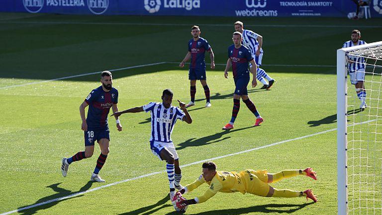 Уеска - Реал Сосиедад 1:0