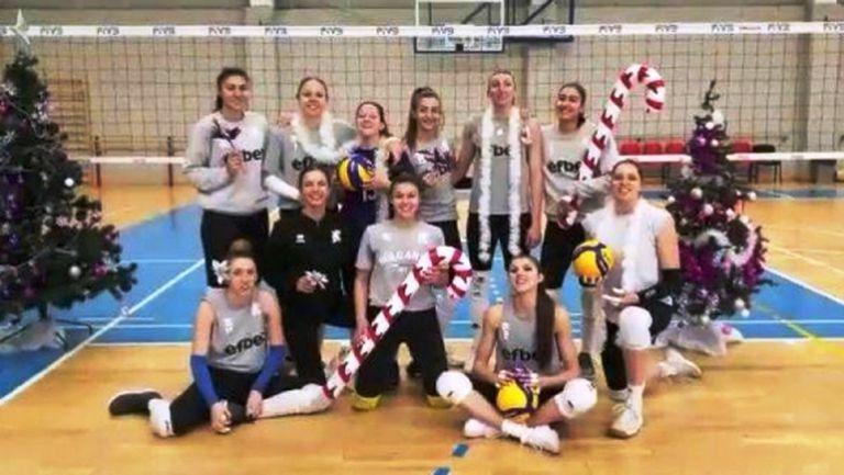 Волейболистите и волейболистките с празничен поздрав по случай Новата 2020 година