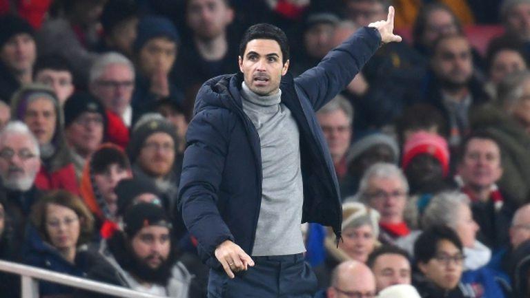 Артета е обнадежден след победата над Манчестър Юнайтед