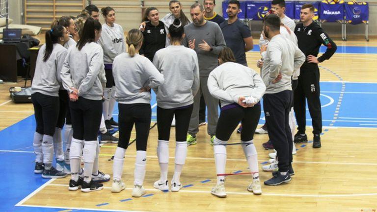 Волейболистките победиха Хърватия във втората контрола
