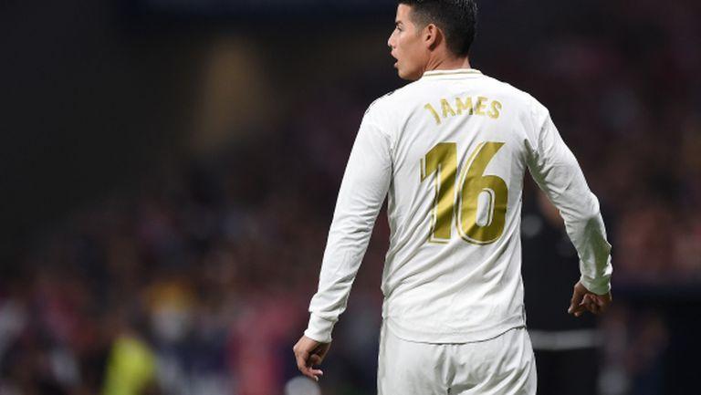 Правило на ФИФА позволява на Хамес да си тръгне без пари от Реал Мадрид