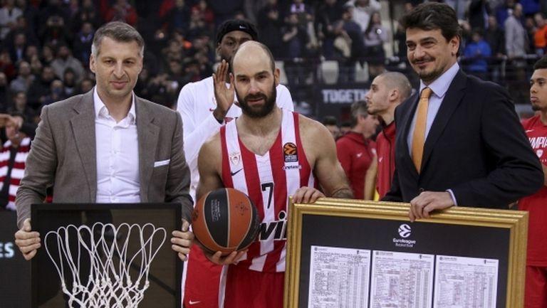Спанулис вече е реализатор №1 в историята на Евролигата (видео)