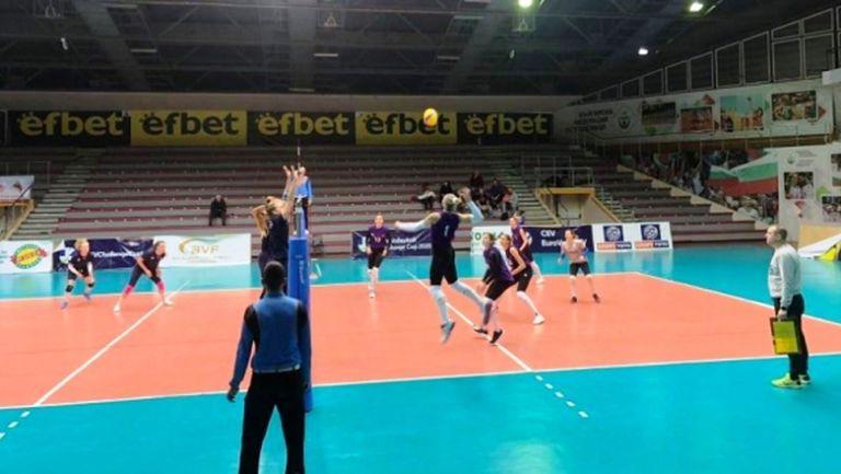 Волейболистките биха Хърватия и в третата контрола