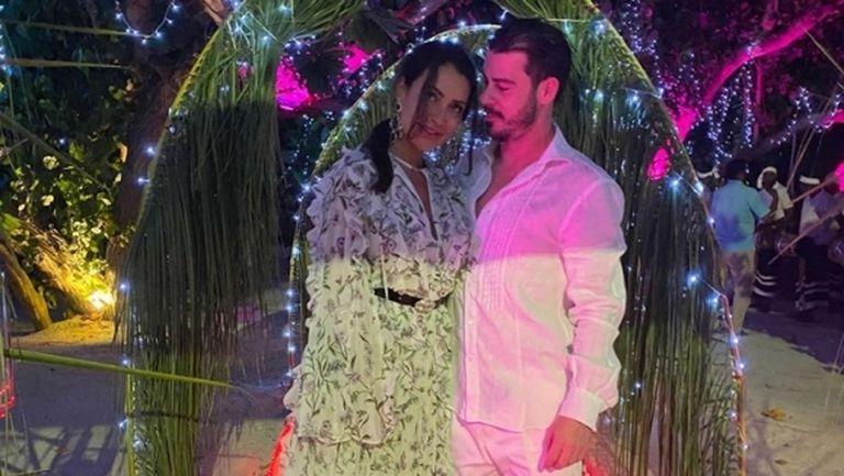 Галин Иванов празнува с Франческо Тоти на Малдивите