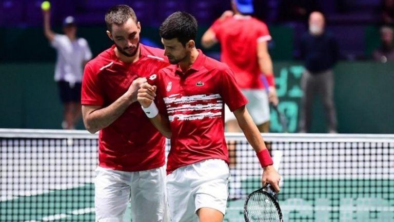 Сърбия е вторият четвъртфиналист в ATP Cup
