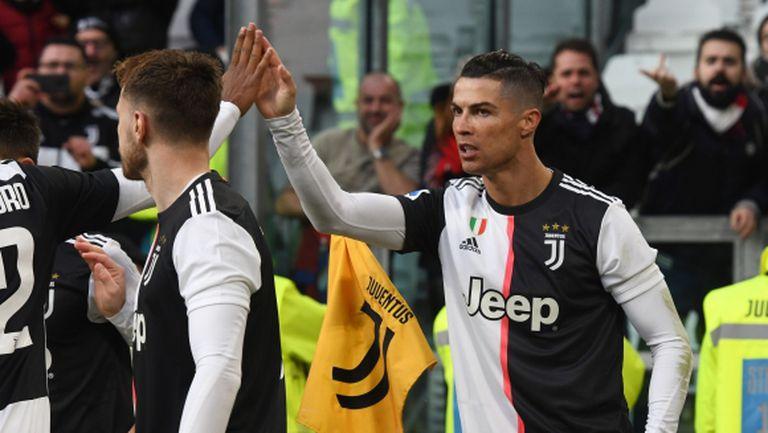 Роналдо: Важното е Интер да бъде под напрежение