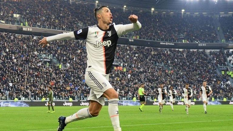 Роналдо записа постижение, което само още един играч е регистрирал до момента