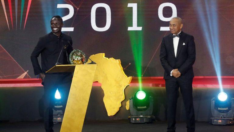 Този път Садио Мане изпревари Салах за Футболист №1 на Африка