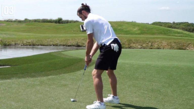 В Реал Мадрид отново се шегуват с увлечението на Бейл по голфа