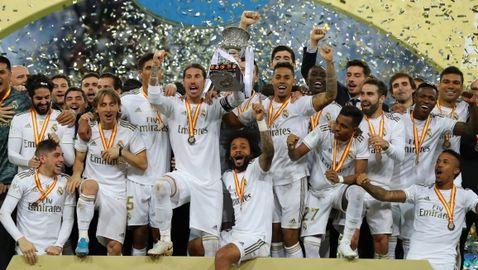 Реал Мадрид грабна Суперкупата на Испания след дузпи с Атлетико (видео + галерия)
