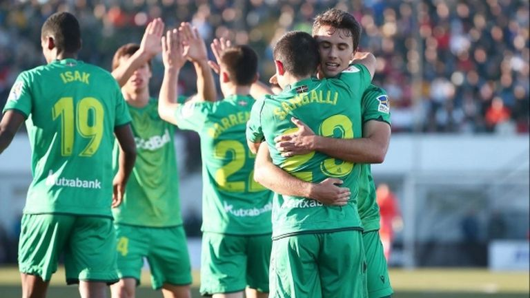 Реал Сосиедад вкара 4 гола за 11 минути, дузпи помогнаха на Леванте
