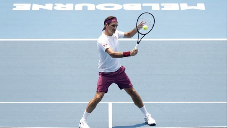 Федерер: Мога да си позволя да пристигна в Мелбърн по-късно