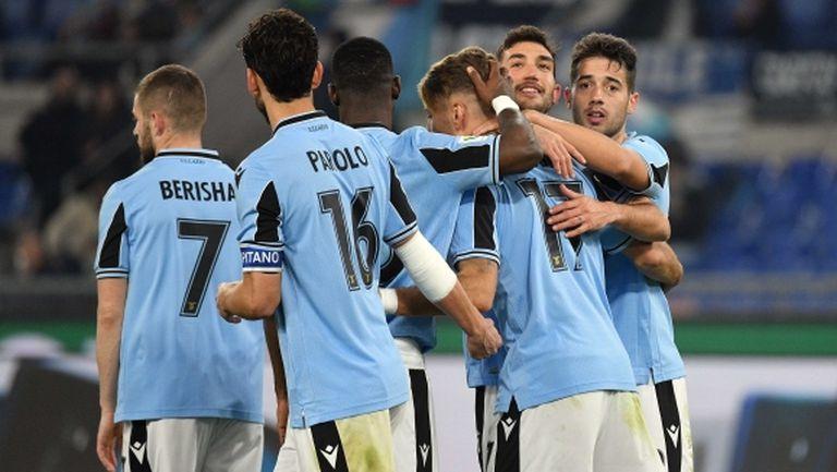 Лацио разби втородивизионен тим и ще играе на 1/4-финал за Купата (видео)