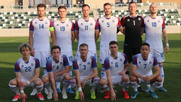 Защитник на Левски носи успех на Исландия