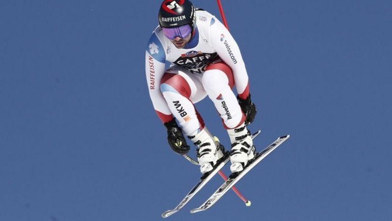 Беат Фойц спечели спускането във Венген