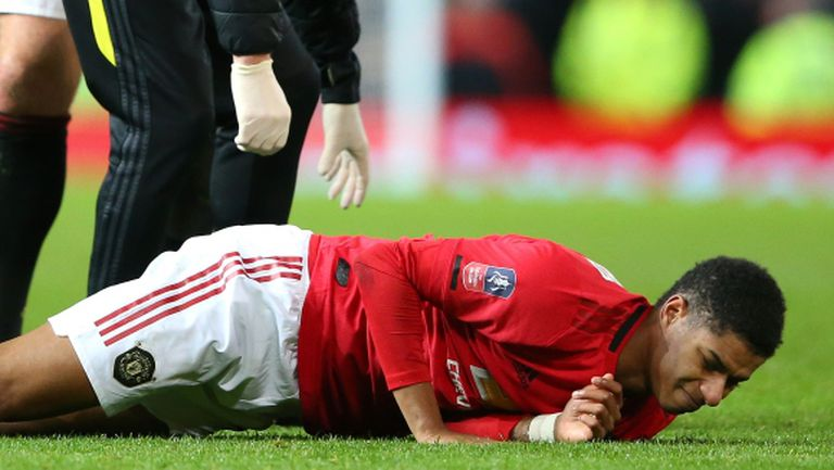 Ман Юнайтед тръгна за Ливърпул без Рашфорд