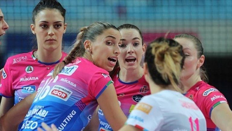Елица Василева и Новара с 12-а победа в Италия (снимки)