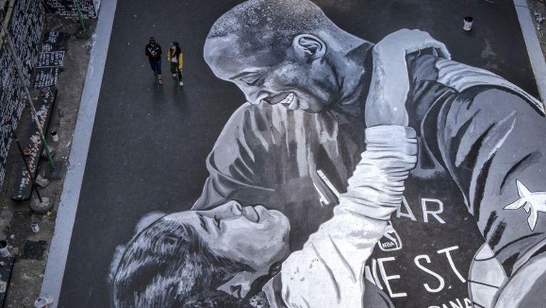 Посветиха баскетболно игрище на Коби и Джиана във Филипините (галерия)