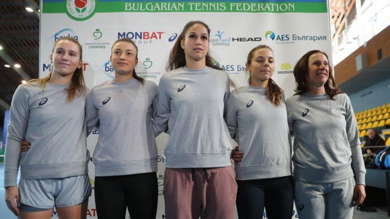 """Националките на България за """"Фед Къп"""": Ще се борим докрай (видео+галерия)"""