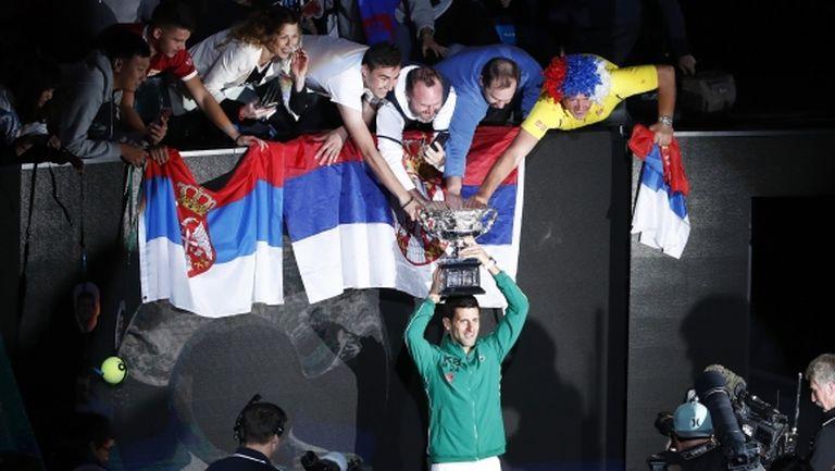 Джокович с пореден велик обрат за осми триумф в Австралия!