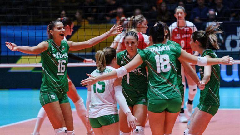 Волейболистките на България 20-и в новата световна ранглиста