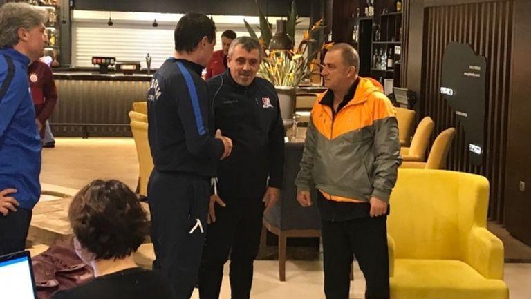 Петър Хубчев се срещна с Фатих Терим