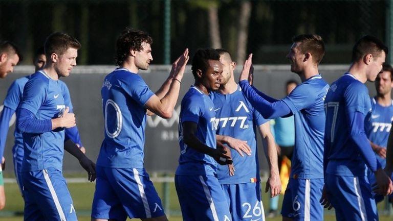 Левски играе в Белек последната си проверка