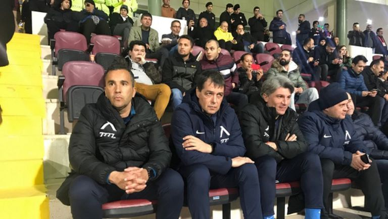 Щабът на Левски изгледа загуба на Галатасарай (видео)