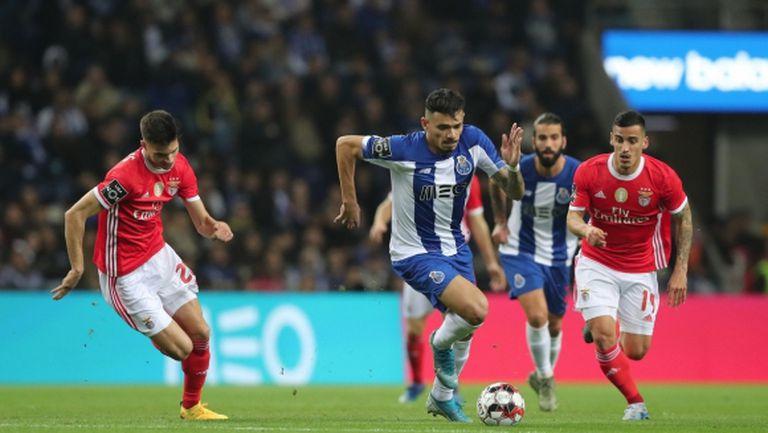 Порто спечели надстрелването с Бенфика