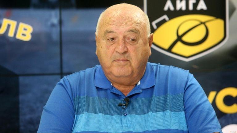 Стефанов: Трябва да разберем, че голям футбол се прави с много пари