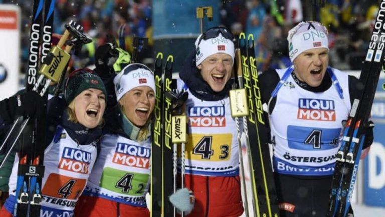 Триумф за Норвегия на старта на Световното, България с 24-о място в смесената щафета
