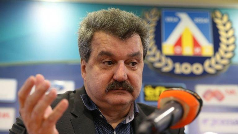 Батков: Сега е моментът да покажем, че обичаме Левски