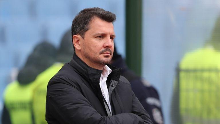 Крушчич: Бяхме по-добри от Левски, не съм доволен от резултата