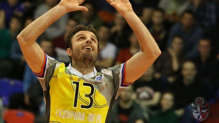 Теодор Салпаров и Сургут се добраха до точка, но не и до победата в Нижний Новгород