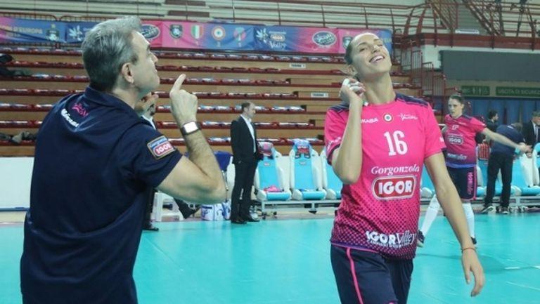Елица Василева и Новара срещу Фенербахче на 1/4-финал в ШЛ (видео)