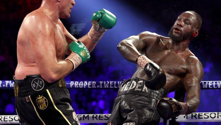 Уайлдър: Днес победи по-добрият боксьор