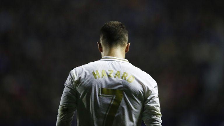 Кошмарни новини за Реал Мадрид - Азар пропуска почти целия сезон