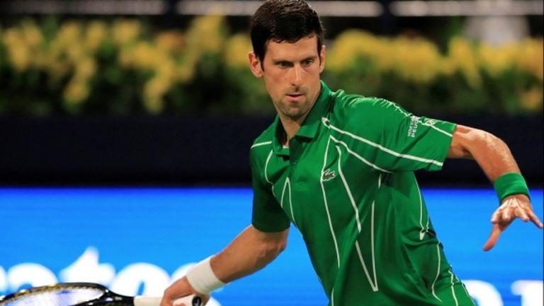 Джокович с експресна победа, говори за Федерер