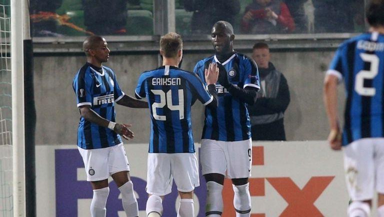 Девет от титулярите на Интер срещу Лудогорец няма да започнат с Ювентус