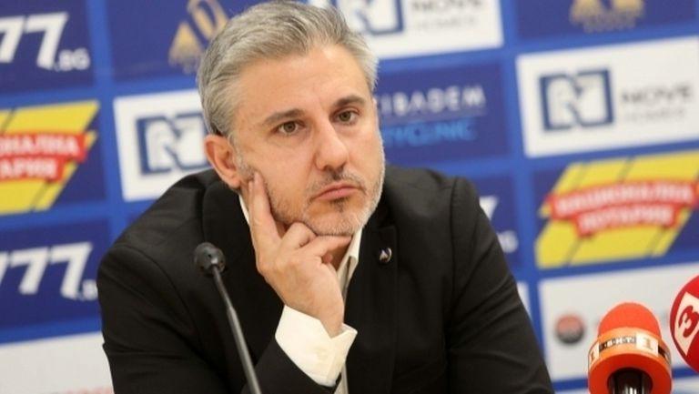 Павел Колев коментира възможността Левски да има нов генерален спонсор