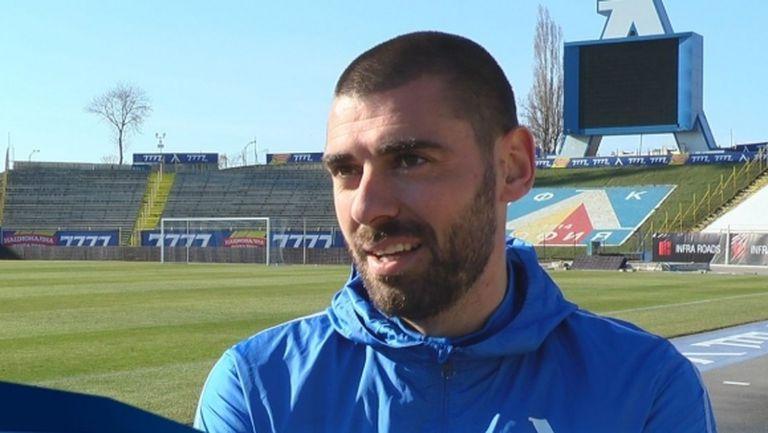Георги Георгиев: Не мога да имам колебания, когато става въпрос за родния ми отбор (видео)