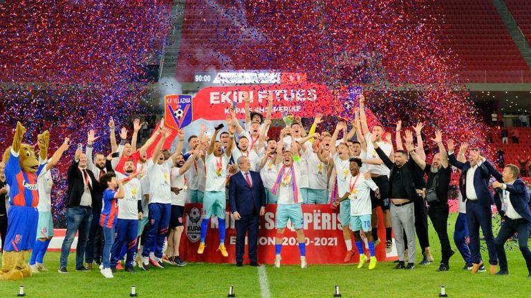 Влазня спечели за седми път Купата на Албания
