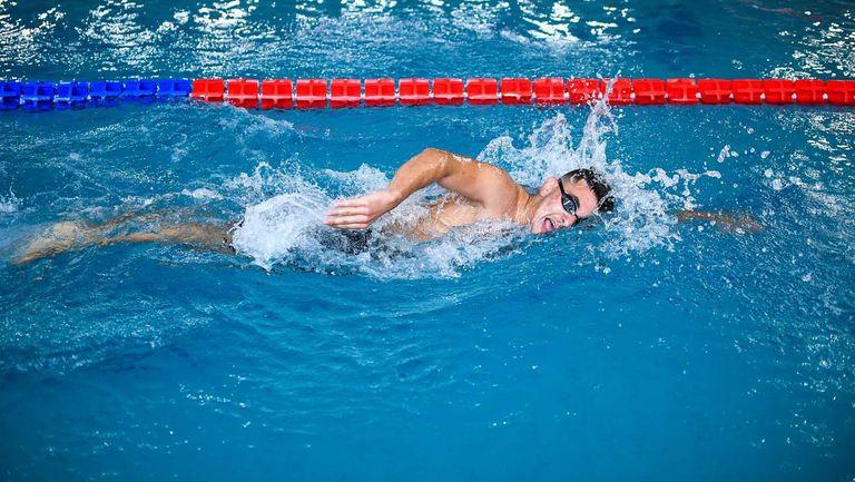 Калоян Левтеров завърши четвърти на 100 м свободен стил