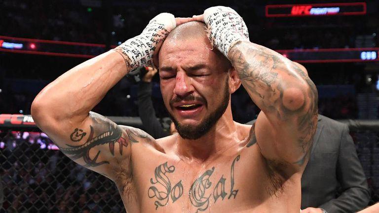 Първата битка от галата на UFC в Лас Вегас трая само 63 секунди