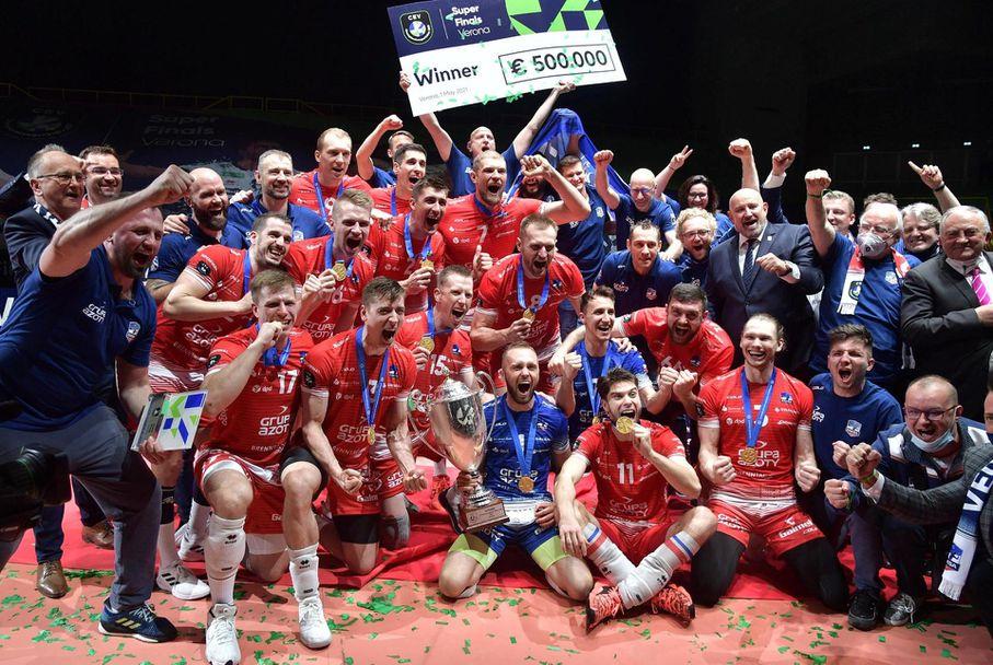 ЗАКСА спечели Шампионската лига за първи път в историята си 🏐
