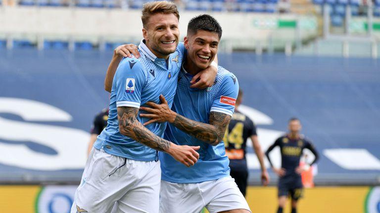 Лацио надигра Дженоа в зрелище със 7 гола, Имобиле изравни важен рекорд (видео)